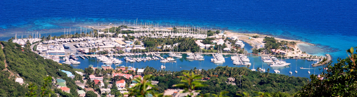 Nanny Cay from Sage Mnt by Julian Putley