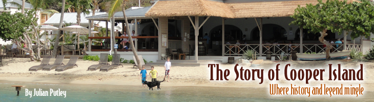The restaurant at Cooper Island