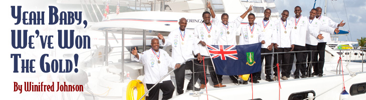The BVI Culinary Team on a Moorings Yacht