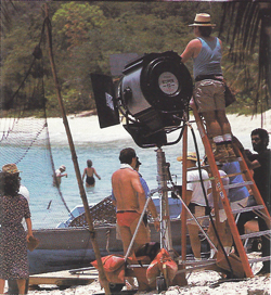 Shooting The Old Man and the Sea at Smuggler's Cove