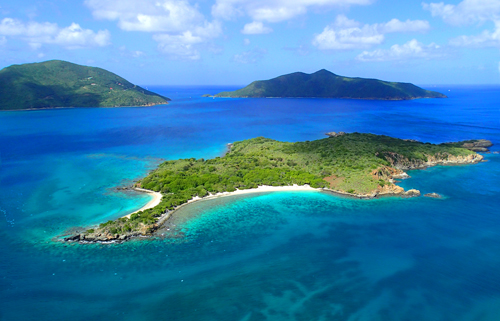 Antilles Helicopter Ride over North Sound, Virgin Gorda