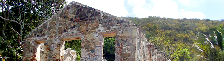The remains of St. Philips church at Kingstown Photo by Daniel Mejia
