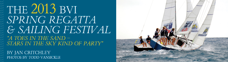 The 2013 BVI Spring Regatta and Sailing Festival Banner