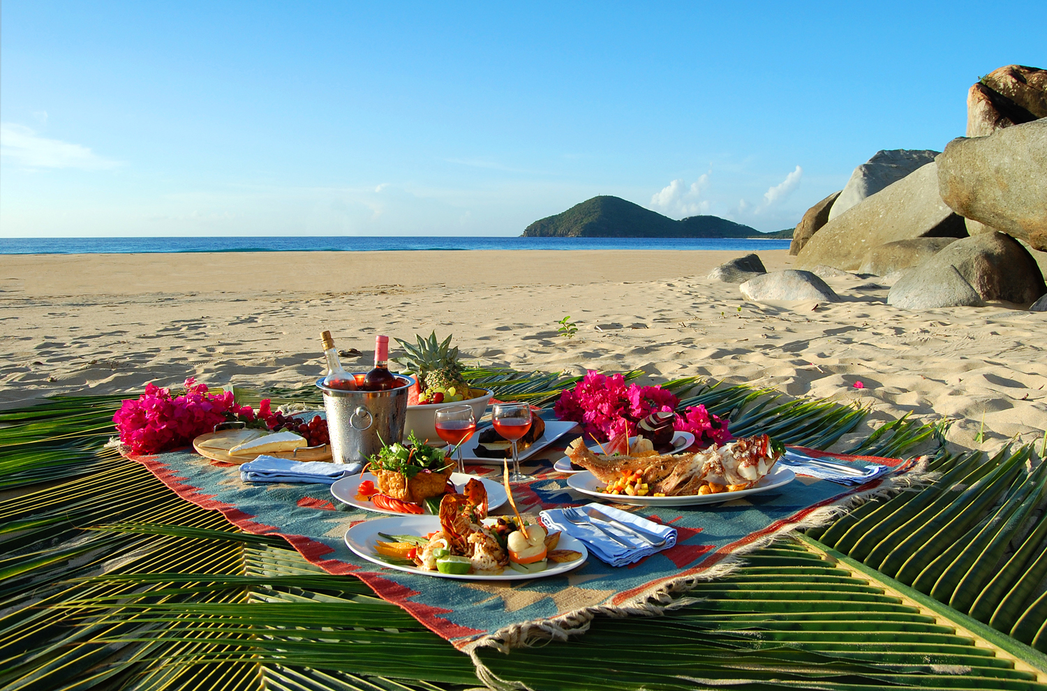 Romantic Dinner Recipes Lazy Days Picnic Caribbean Style