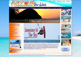 BVI Welcome website screenshot