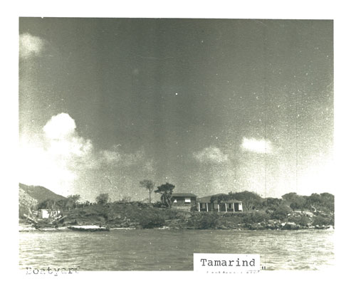 The Tamarind House on Conch Shell Point. Photo: courtesy Mabel Wagner