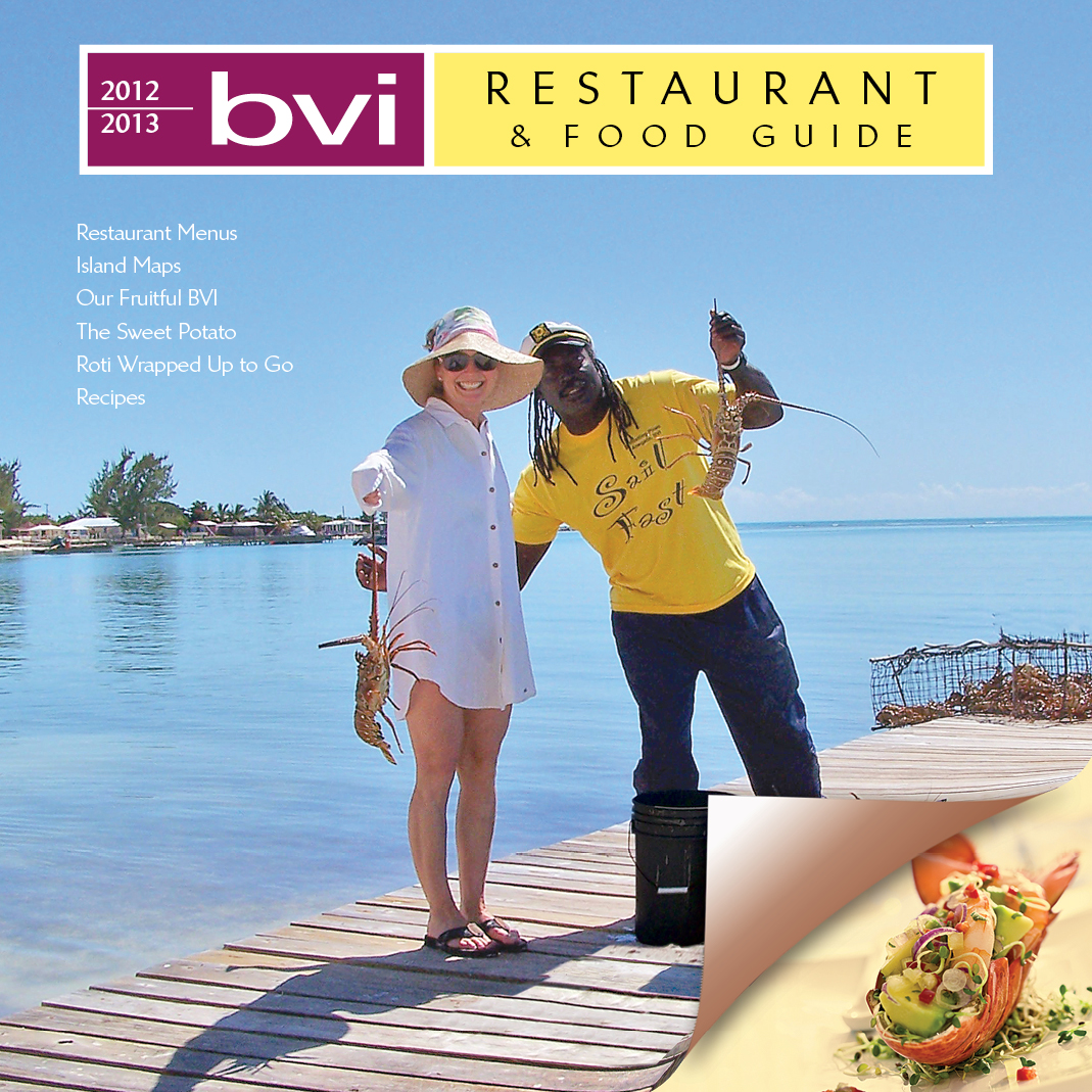 BVI Restaurant guide 2012 cover photo