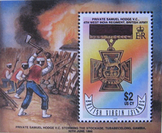 Virgin Islands stamp